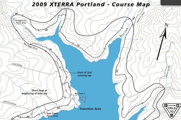 The 2009 Xterra Portland event will be August 15.