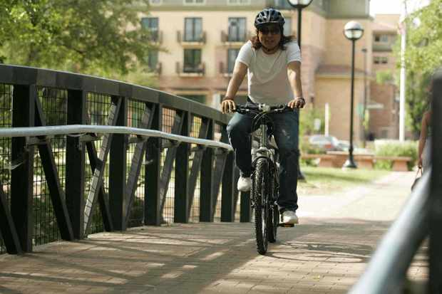 President Obama's $825M toward Transportation Enhancements will help bicycling.