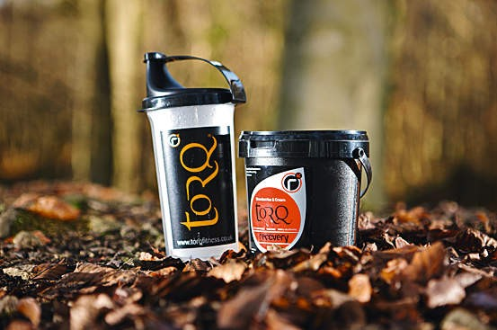 Torq strawberries and cream recovery drink