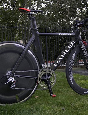 Team Fly V Australia p/b Successful Living is using the Parlee TT in this year's Tour of California.