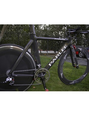 Parlee has been developing the frame for at least two years and feels the final product is in keeping with the performance of the rest of its lineup.
