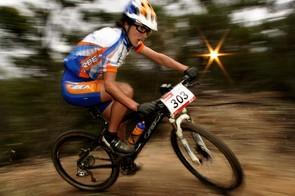Rowena Fry will ride for the new Cycling Australia Discovertasmania.com cross-country team