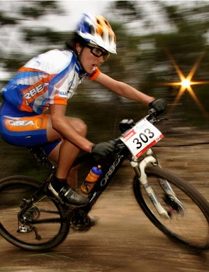 Rowena Fry will ride for the new Cycling Australia Discovertasmania.com cross-country team