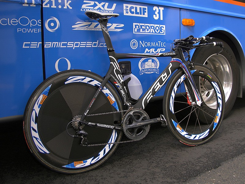 Felt claims the DA to be the fastest bike ever tested in the San Diego Low Speed Wind Tunnel.