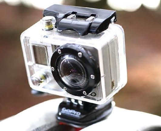 Helmet Hero Wide-Angle Video Camera