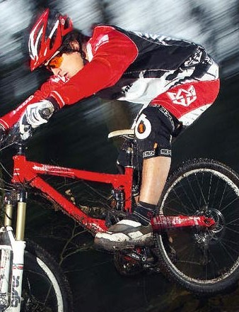 The Commencal is a very easy bike to enjoy descents on