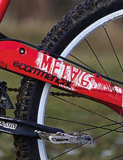 Commencal's cunning Contact System linkage is remarkably smooth but not without niggles