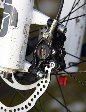 The outstanding control of Formula's Oro brakes impresses however hard you work them