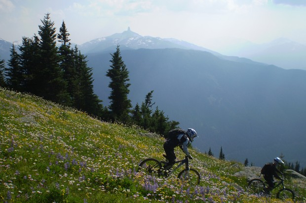 Peak Leaders run mountain bike instructor training courses in Whistler and Switzerland