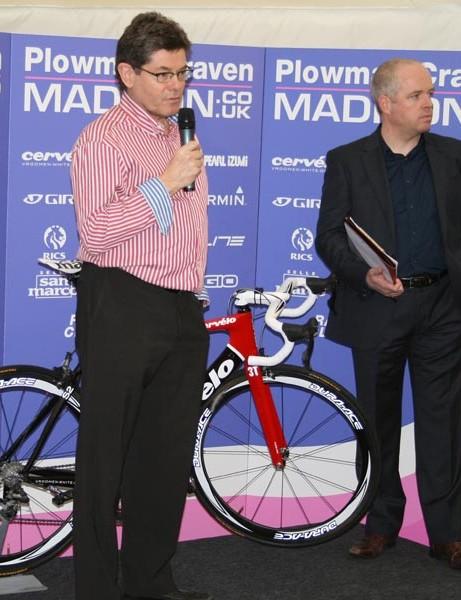 Team owner Simon Barnes