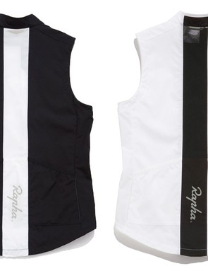 Rapha's Gilet is available in black or white