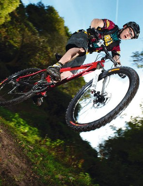 The XC-capable Stiffee has unashamed  freeride pretensions