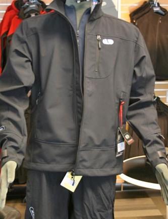 Trail men's softshell waterproof jacket