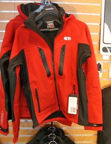 Tempest softshell waterproof jacket