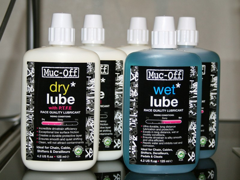 Muc-Off wet and dry lube