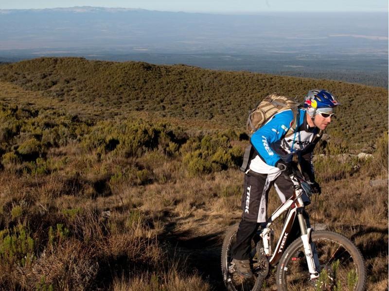 Rene Wildhaber in action in Kenya