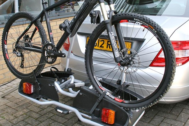 Thule EuroPower 916 - note, this is not an electric bike doing the modelling