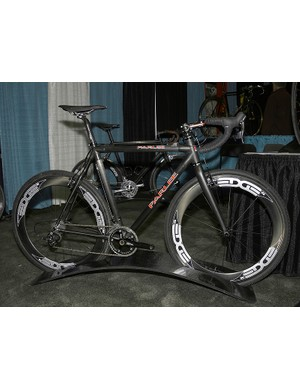 Parlee's new 'cross bike is also ready for the mud.
