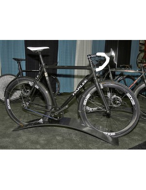 This single-speed Parlee belt-drive 'cross bike looks ideally suited to nasty weather.