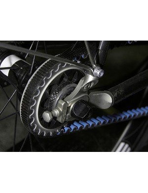 Parlee's dropout design is already well suited Parlee's dropout design is already well suited for the Carbon Drive Systems belt installation.
