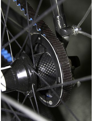 Naturally, Parlee made their own spacers for the rear cog.