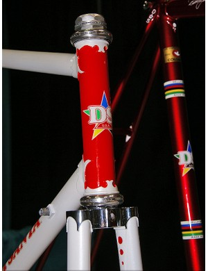 Della Santa is limiting production to just twenty framesets as he's limited by the number of old Nervex Pro lugs he still has on hand.
