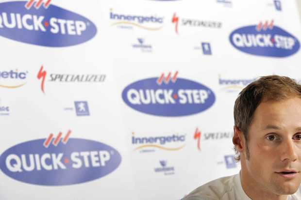 Belgian star Tom Boonen (QuikcStep).