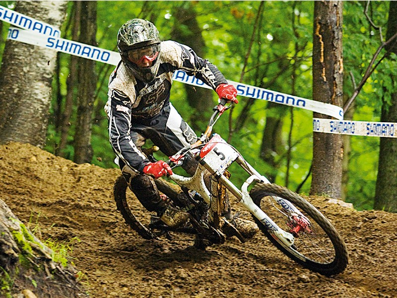 Marc Beaumont at last year's World Cup round in Bromont, Canada