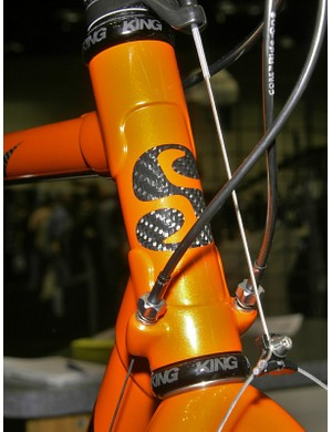 Serotta is playing with some new graphics but hasn't made any final decisions on visual changes moving forward.
