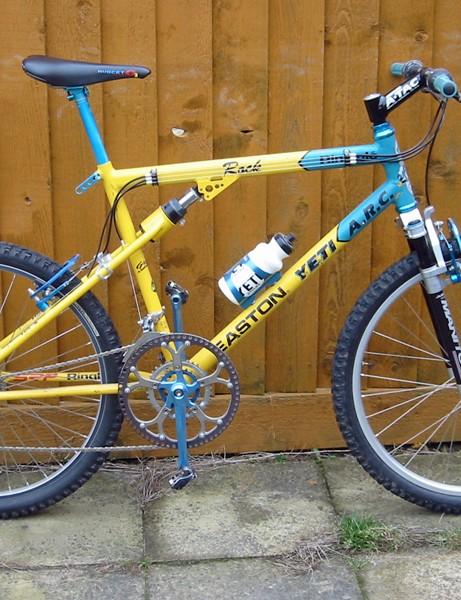 Myles's Yeti ARC bike