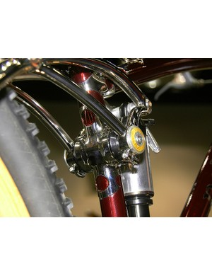 Whittingham uses FSA headsets for the main linkage pivot and main swingarm pivot.