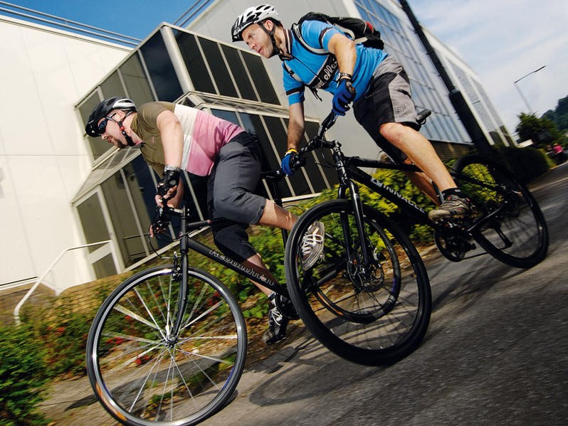 Spectators will be encouraged to cycle to the London Olympics
