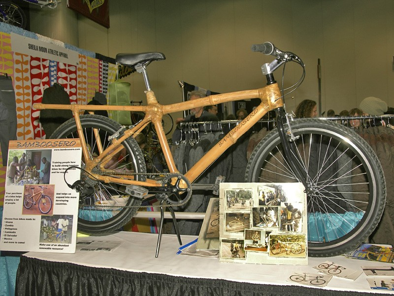 Calfee is seeking a greater purpose these days with the launch of his Bamboosero project which seeks to put locally built bamboo utility bikes in the hands of third-world residents.