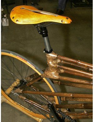 We're guessing the omission of a seat tube makes for a particularly comfortable ride.