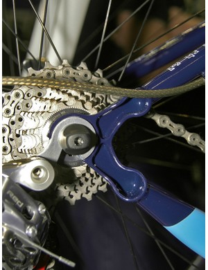 Courage's new dropouts are apparently stiffer than the original design with more weld surface area and newly replaceable derailleur hanger.