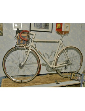 Signal also showed off this lovely randonneur bike.