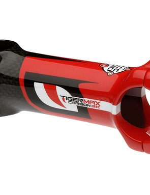Pinarello's FP7 comes with a Most Tigermax carbon 3K stem