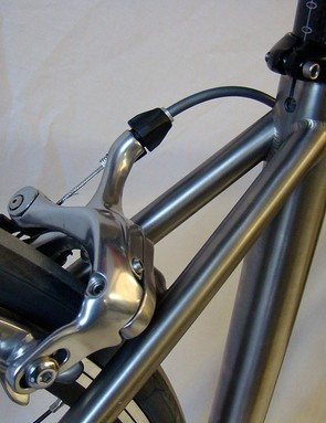 Close-up details of the Xicon seatstays.