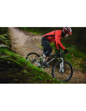 The 69er loves fast, open trails, where it beats 26ers for speed