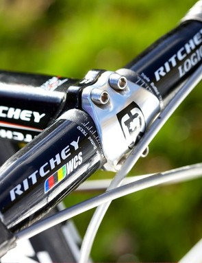 Ritchey WCS fi nishing kit was flawless throughout the test period