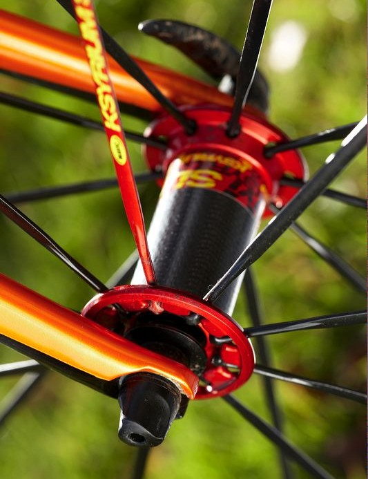 Ksyrium SL Wheelset delivers ultra high performance that's beautiful to look at.