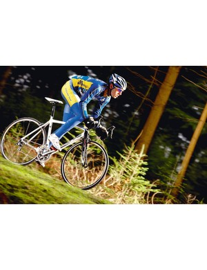 The Lapierre displays impeccable manners, its well designed frame complemented by a top notch Mavic wheelset