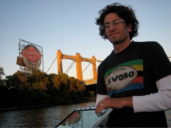 Joe Parkin, former professional bike racer turned author.