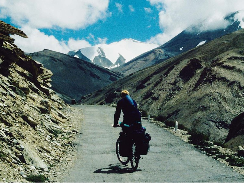 James Bowthorpe will have views like this and more on his upcoming round-the-world bicycle trip