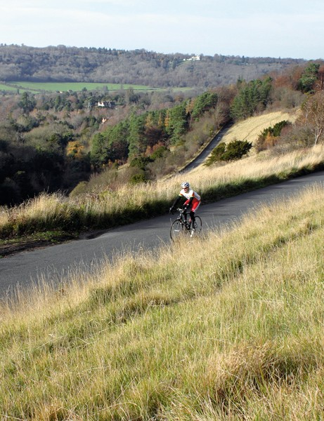 The Surrey Hills are popular with mountain bikers and roadies alike