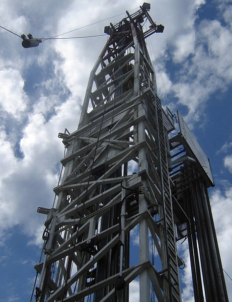 An oil drilling rig could be constructed on Leith Hill in Surrey