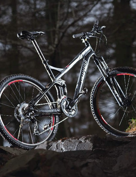 The FSR Comp XC is arguably one of the more elegant 120mm bikes out there
