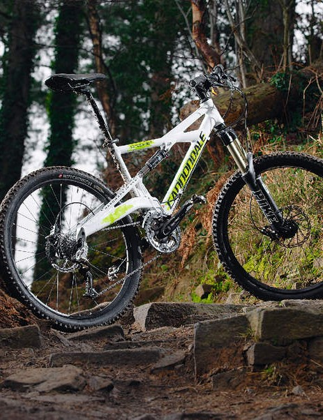 The Cannondale comes alive when your eyes are streaming and your legs are screaming for mercy