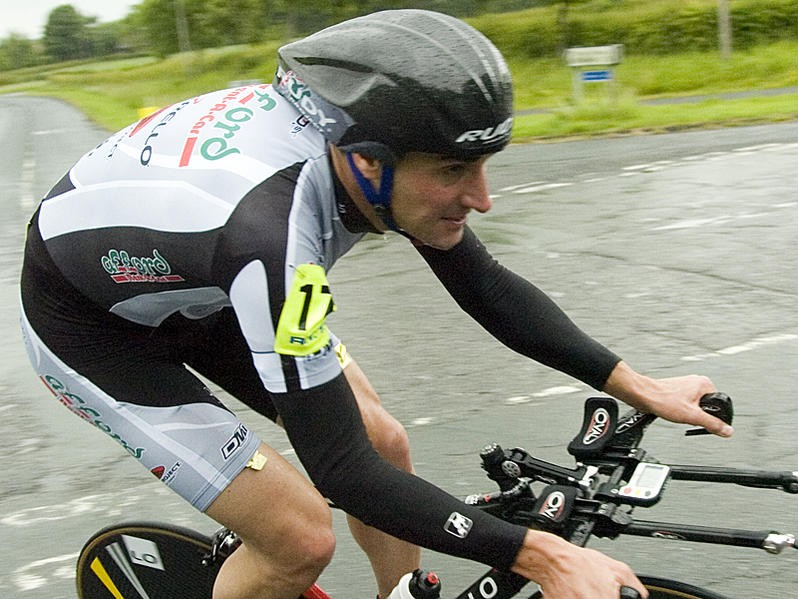 Richard Prebble won the East Surrey Hardriders event