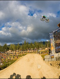 Kasprick in action at Crankworx Whistler '06